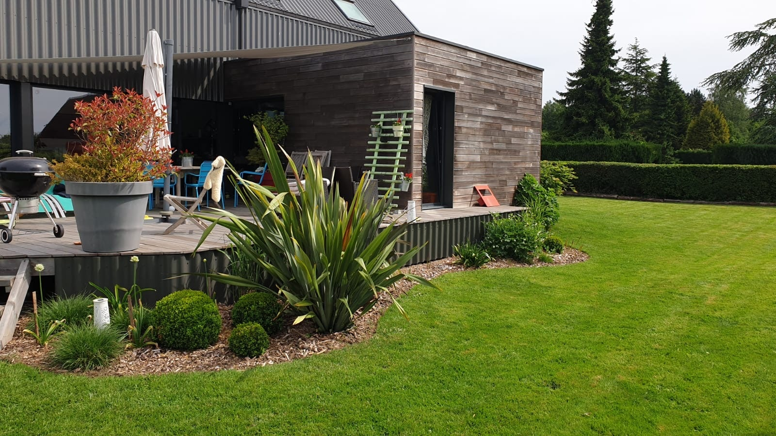 creation jardin montigny chantier