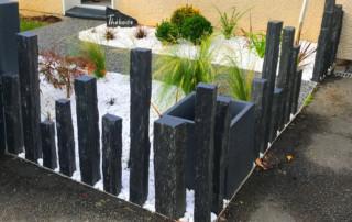 creation jardin rouen dalle chantier